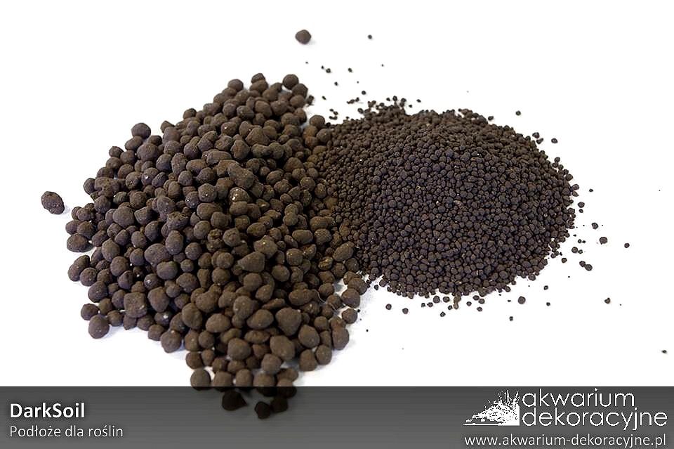 Darksoil dark soil podłoże dla roślin do akwarium aranżacja akwarium dekoracyjne pl a3