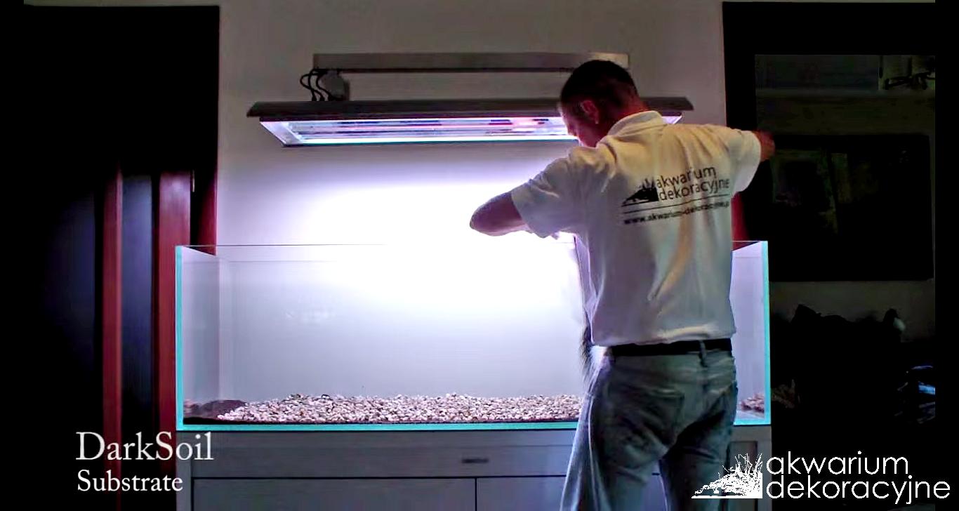 Zakładanie akwarium 160x60x50cm Hardscape Akwarium dekoracyjne